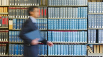 Lawyer in Law Firm Library - Synnott Lawline Solicitors